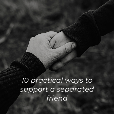 Practical support for a friend