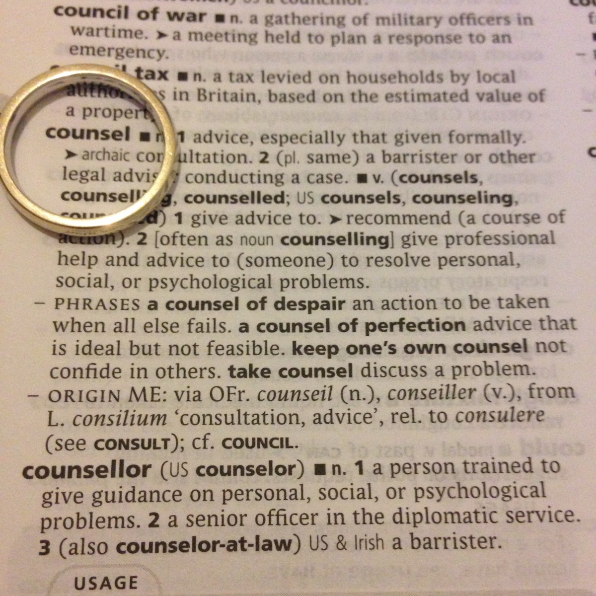 A-Z of Divorce: C is for Counselling