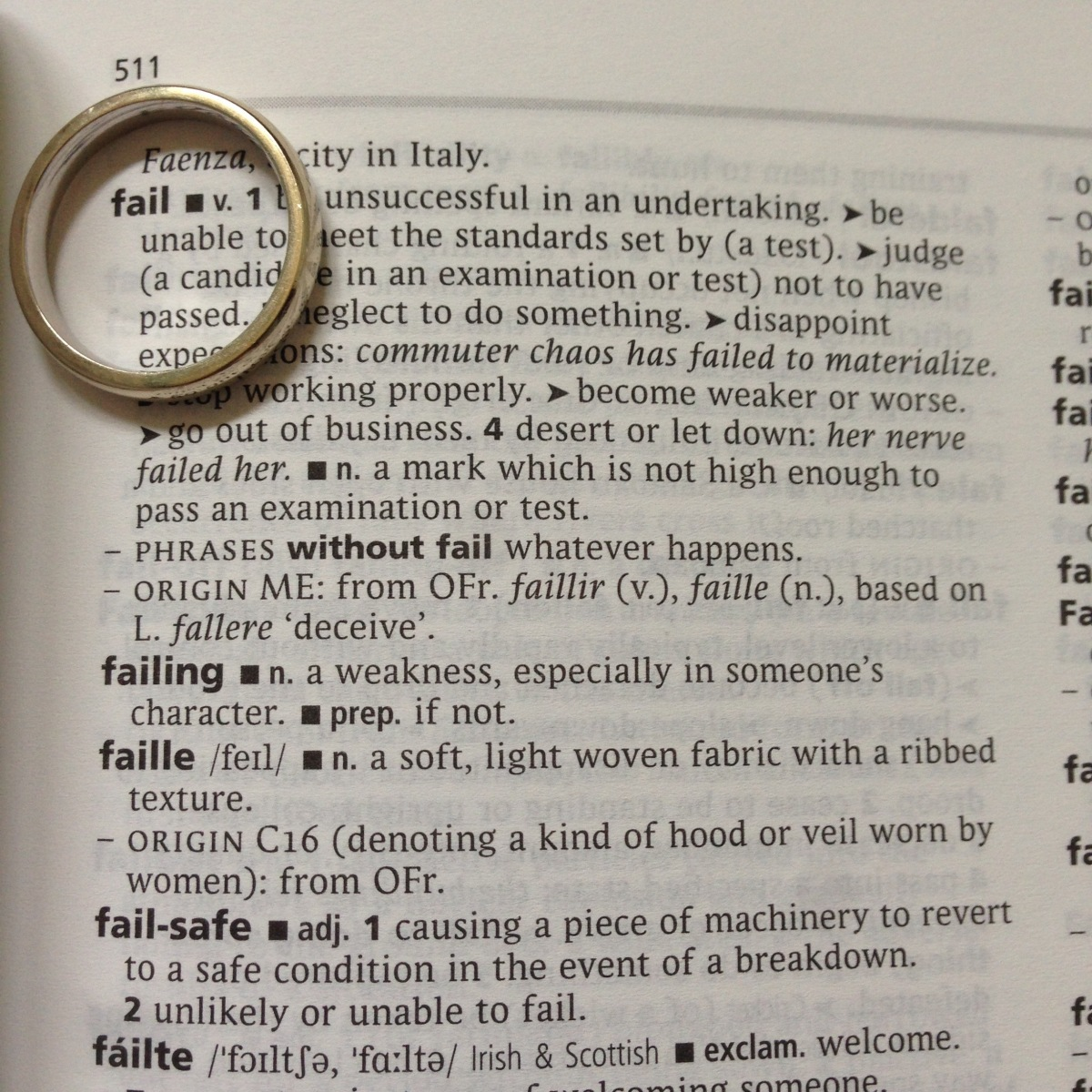 A-Z of Divorce: F...is for Failure