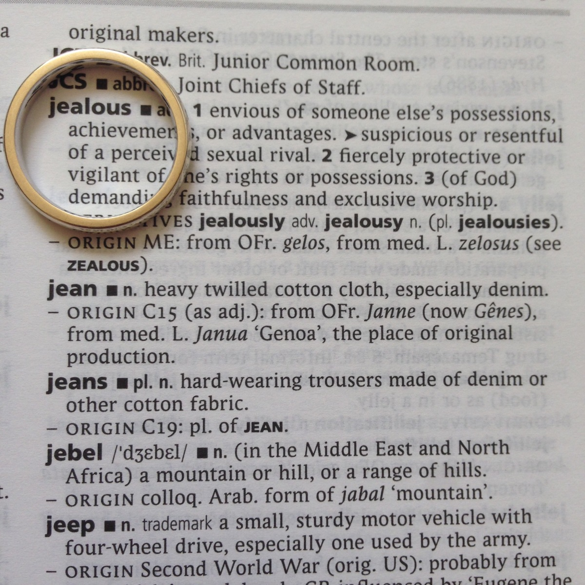 A-Z of Divorce: J is for...Jealousy