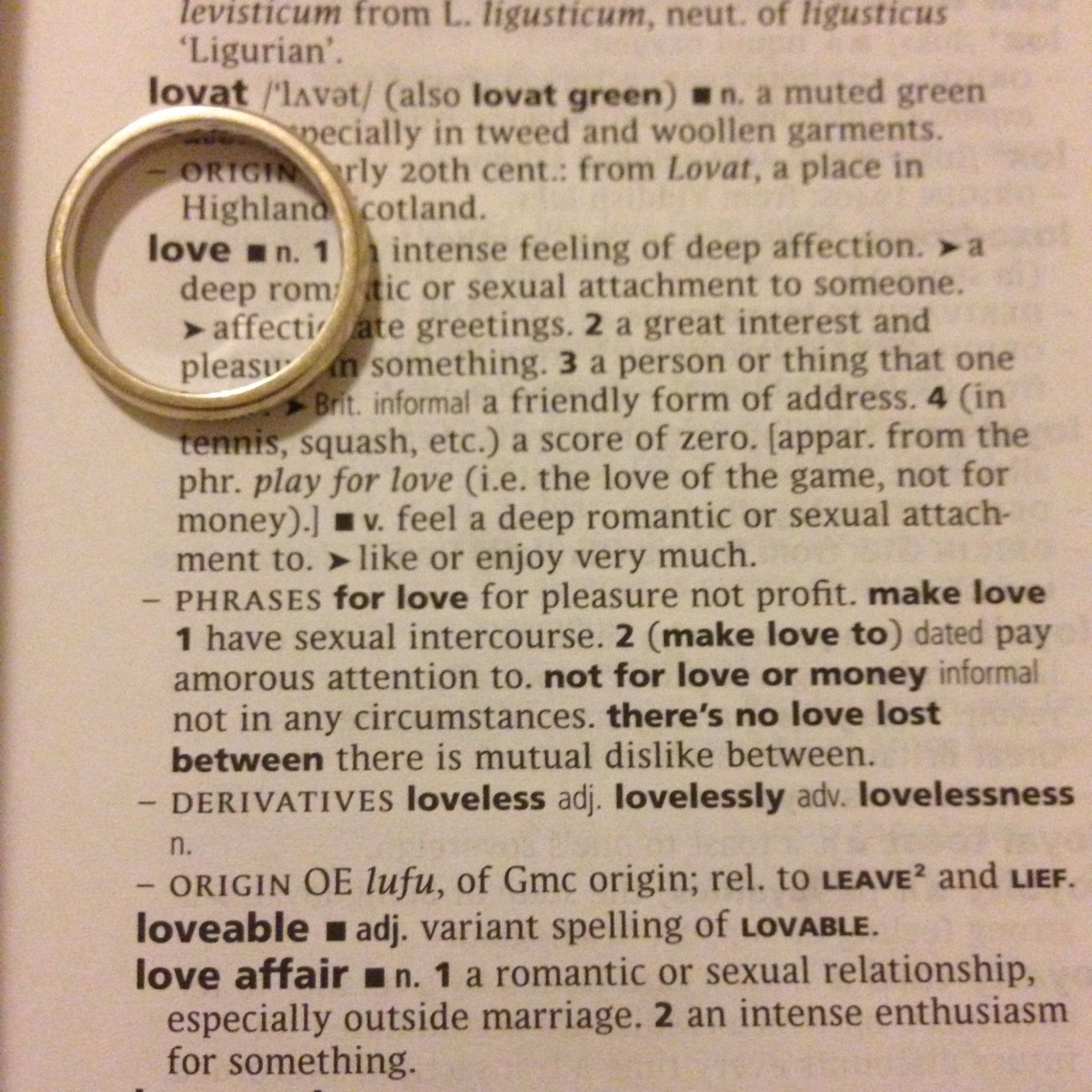 A-Z of Divorce: L...is for Love