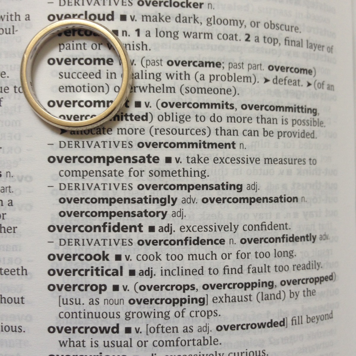 A-Z of Divorce: O...is for Overcoming