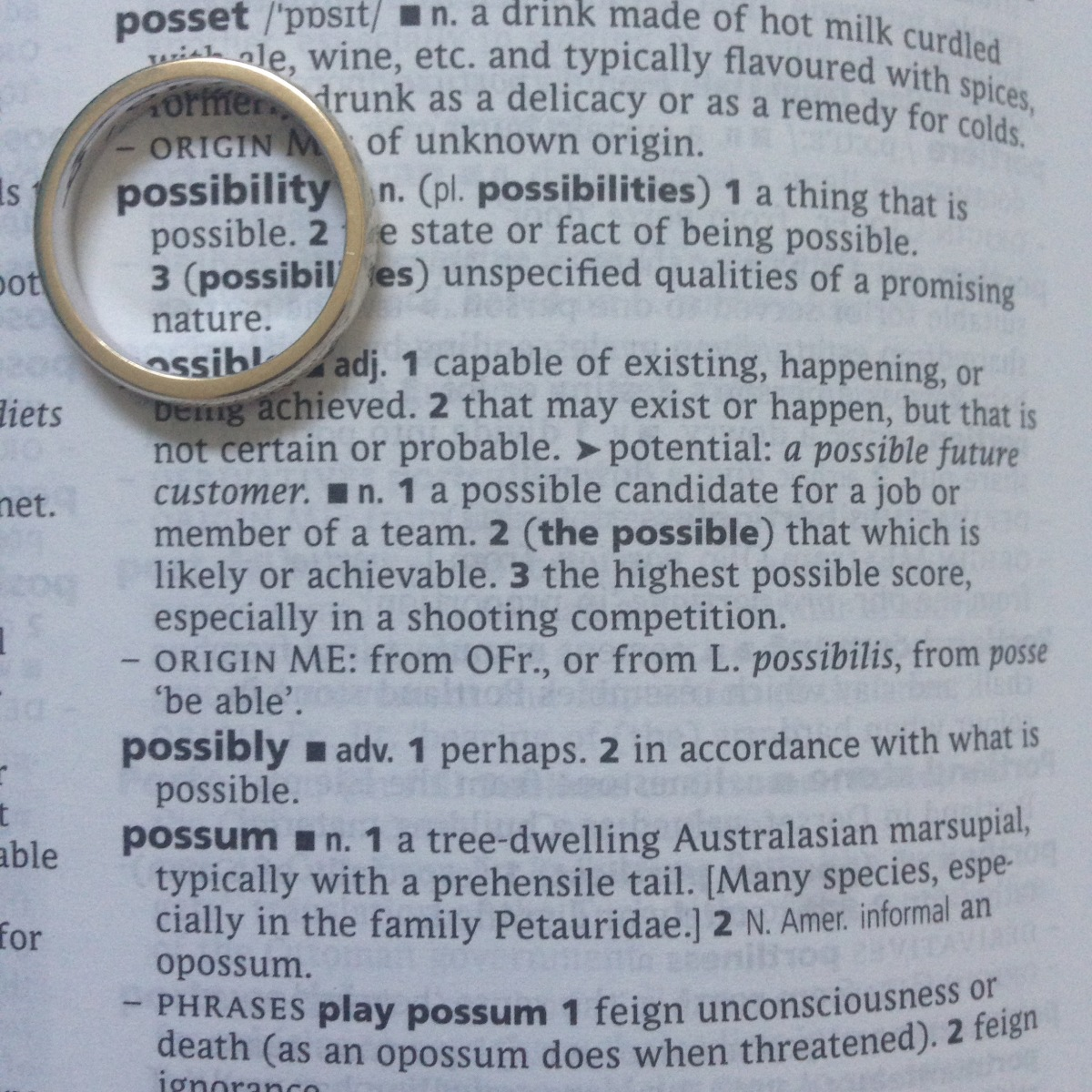 A-Z of Divorce: P is for...Possibilities